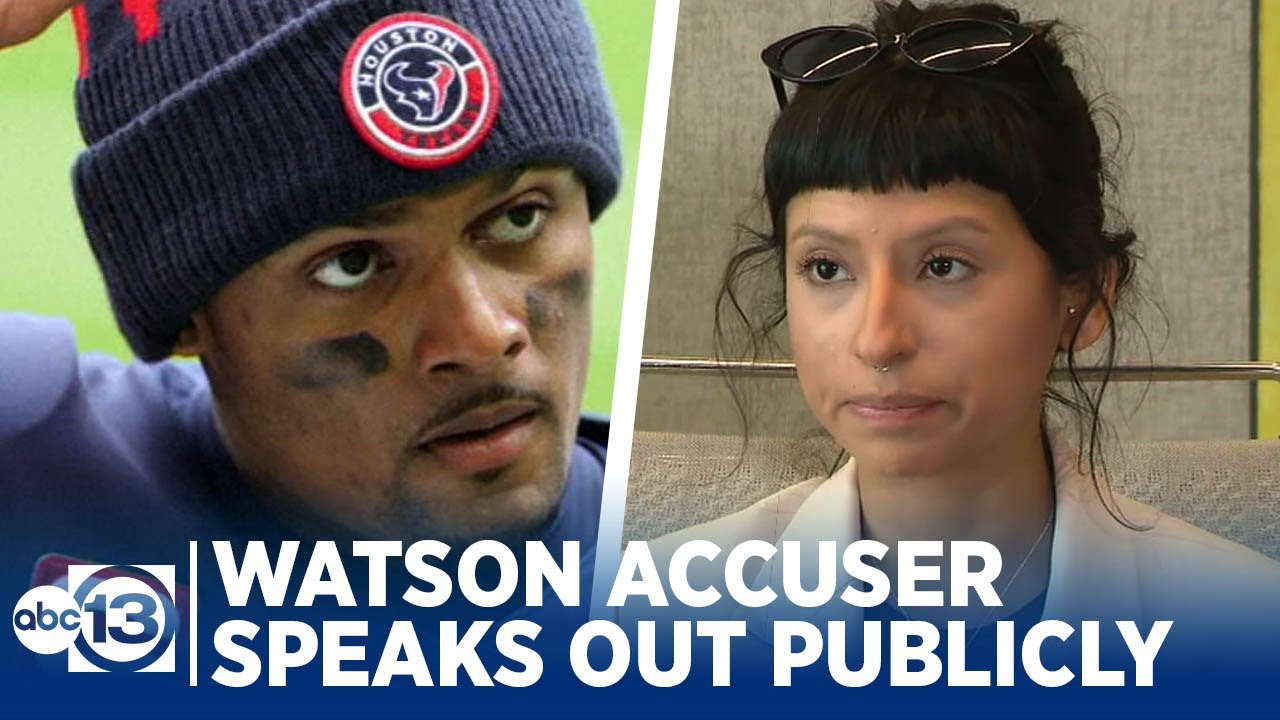 First Deshaun Watson accuser, Ashley Solis, speaks publicly