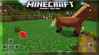 Pooping Animals In MCPE!!! - Minecraft PE (Pocket Edition)