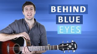 Behind Blue Eyes by The Who (Guitar Lesson)