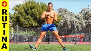 Hombres piernas ejercicios muslos para y