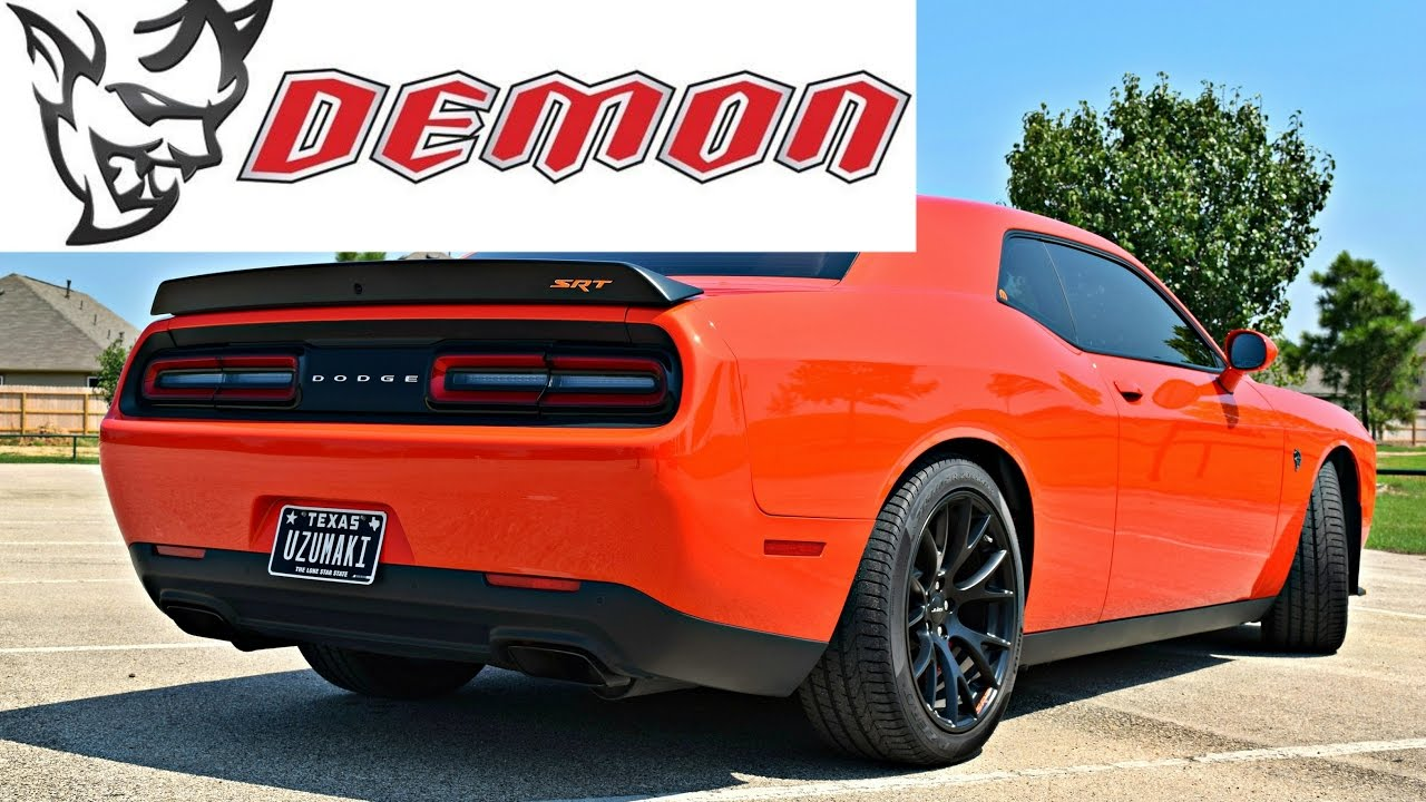 2018 DODGE DEMON?! Hellcats Drop In Price? - YouTube
