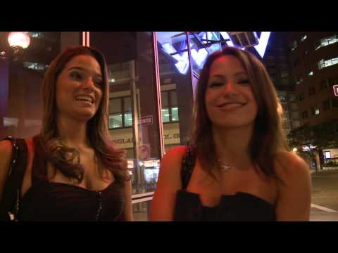 Boston Cab Drunk Brazilian Girls hand slammed in door