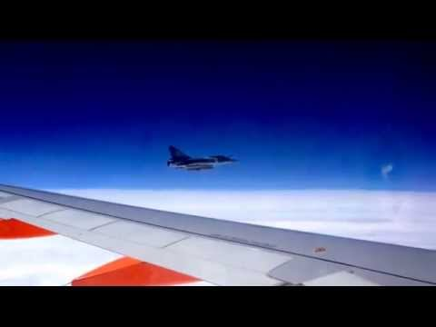 Easyjet flight intercepted by Mirage military jet