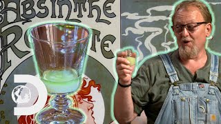 Will This Absinthe Make Digger See The Green Fairy? | Moonshiners: Master Distiller