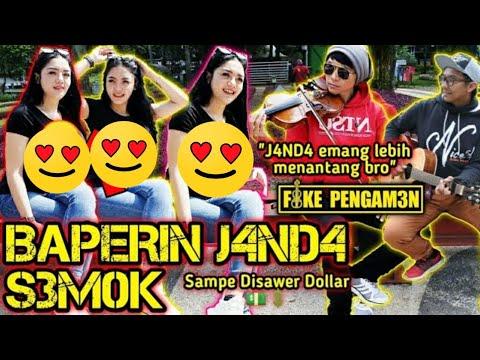 BAPERIN JANDA SEMOK JANDA EMANG LEBIH MENANTANG !! PRANK SINGING IN PUBLIC