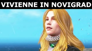 The Witcher 3 Blood and Wine - Meet Vivienne In Novigrad