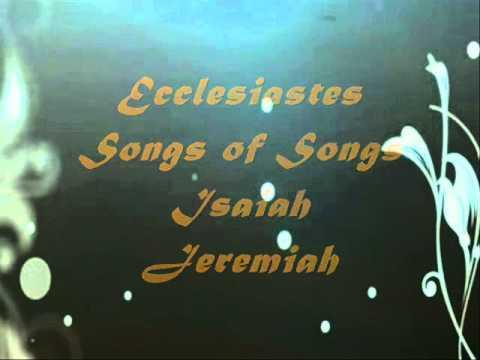 Song to learn the Names of 66 Books in the Holy Bible