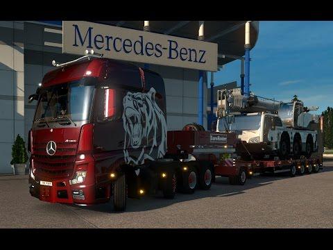 Euro Truck Simulator 2 - Heavy Cargo Pack №2