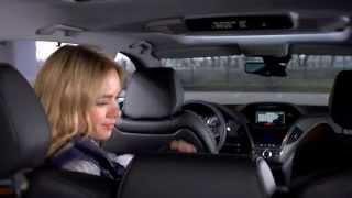 """NEW Acura MDX 2014: Тест-драйв в программе """"Москва рулит""""."""