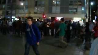 ההפגנה בתל אביב 07-04-2012 Tel Aviv