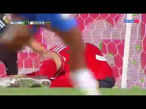 Gol Lincoln: Brasil 1x0 Argentina