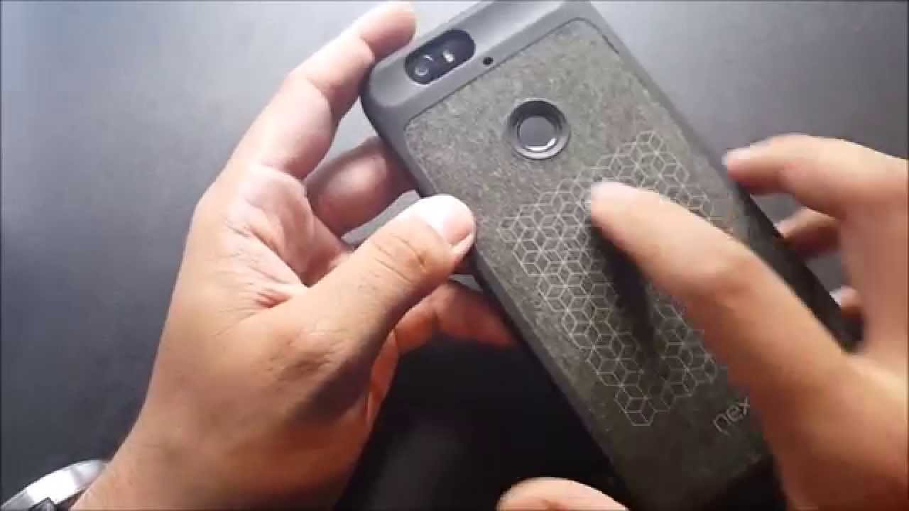 new arrival bbaed bae1a Official Nexus 6p Case Unboxing