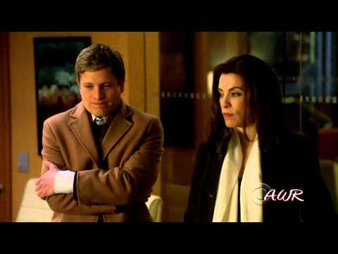 """The Good Wife cast - """"Raise your glass"""""""