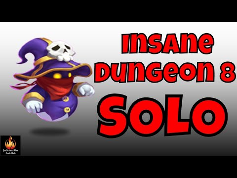 Solo Insane Dungeon 8 With Spirit Mage