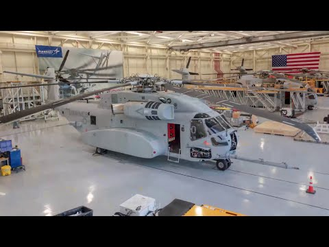 CH-53K Heads to ILA Berlin | Time-Lapse