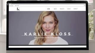 Build Your Website | Karlie Kloss