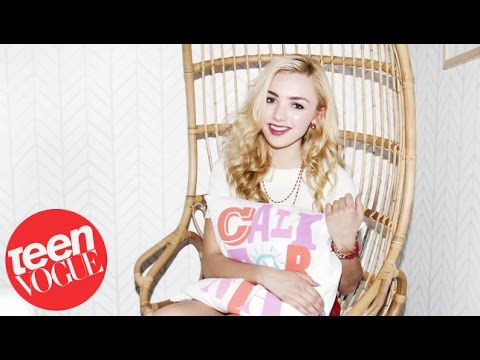 get an exclusive look at peyton list 39 s girl cave makeover