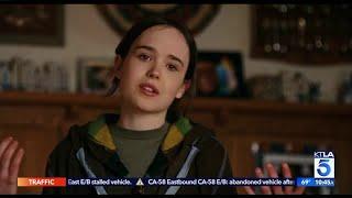 Ellen Page with Huge Announcement - Meet Elliot Page