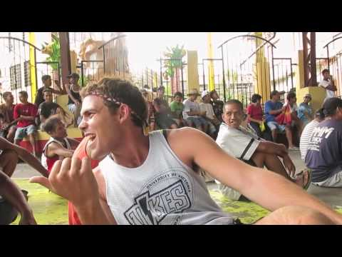 """#BecomingFilipino """"Region 4-A List"""" Ep. 11 - Manny Pacquiao Fight in a Basketball Court"""