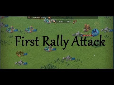 First Ever Rally Attack In 1aO | Lords Mobile