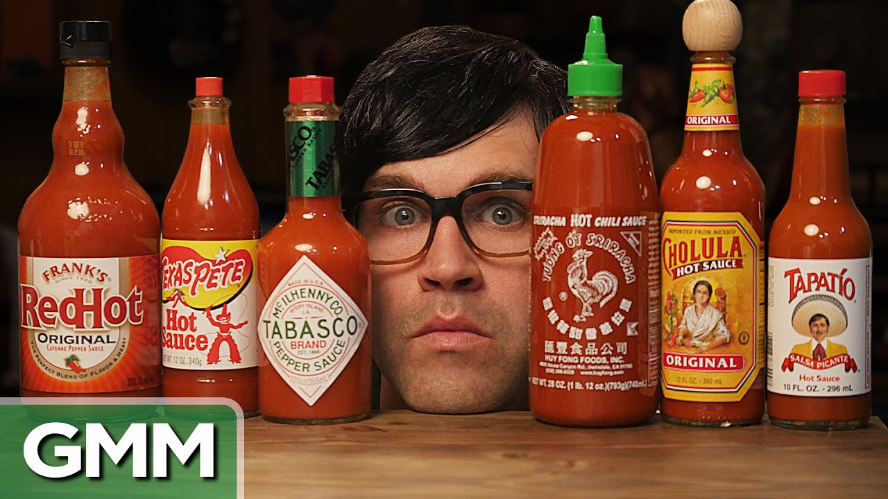 The Blind Hot Sauce Taste Test - YouTube