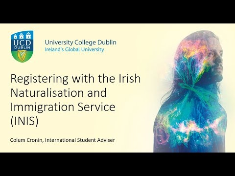 A guide to registering with the Irish Naturalisation and Immigration Service (INIS)