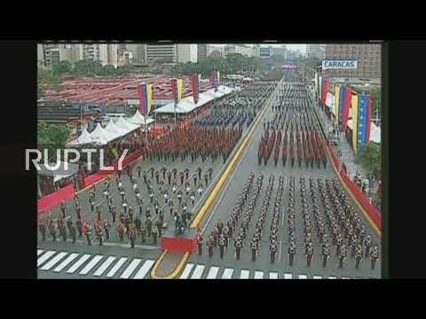 Venezuela: Military parade