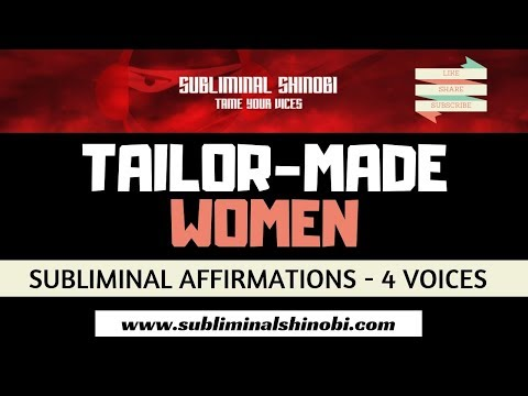 Attract Women Who Are Tailor Made For You - Subliminal Affirmations