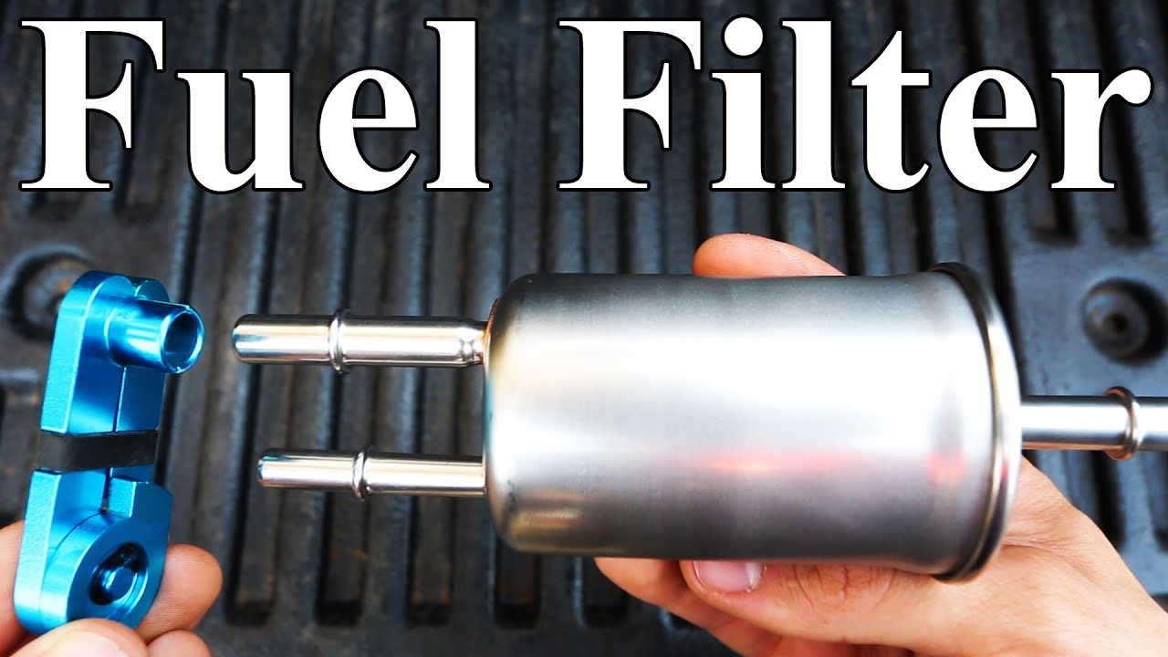 how to replace a ford fuel filter (homemade disconnect tool) - youtube  youtube