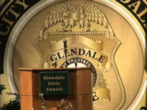 Glendale Arizona swears in Steven Conrad as its next Police Chief