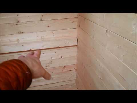 DIY Sauna build