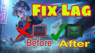 mobile legend how to fix lag quick and easy | tagalog tutorial 2020