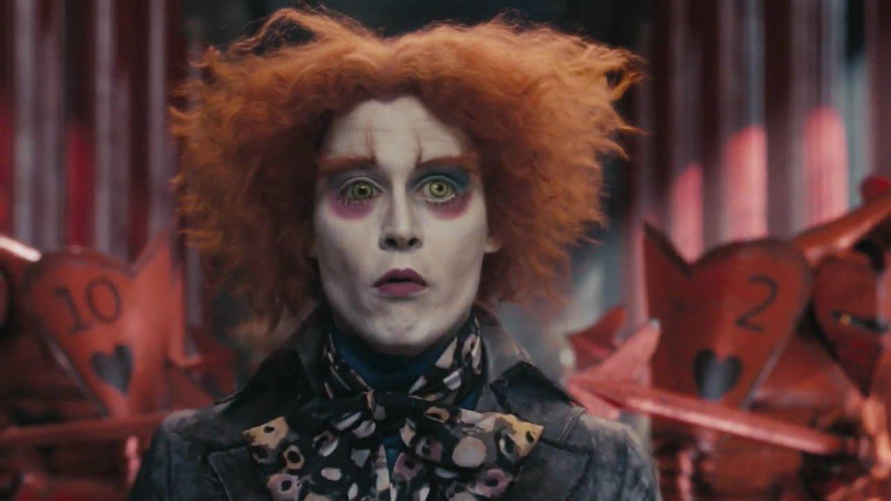 Johnny Depp Alice No País Das Maravilhas O Chapeleiro Maluco