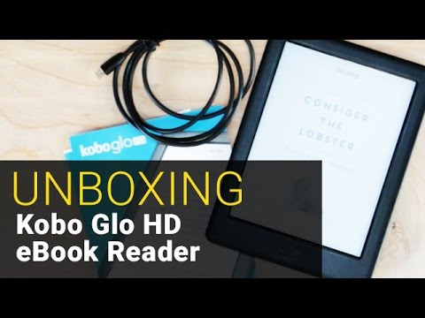 Kobo Glo HD eBook Reader - UNBOXING - Out of the Box #8