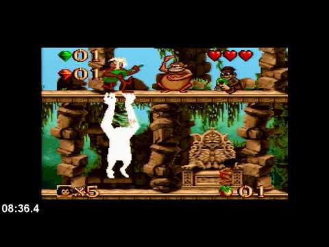 Disney's The Jungle Book (SNES) Speedrun In 17:52