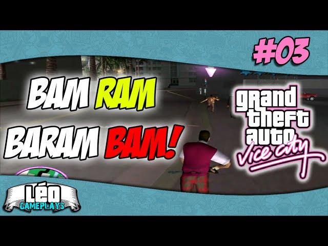 GTA Vice City #3 - Tommy e sua motossera #60fps PT-BR