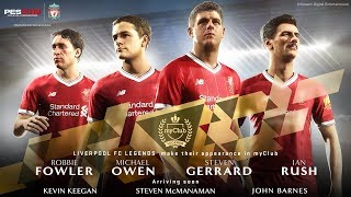 PES 2018 Liverpool FC Legends Trailer