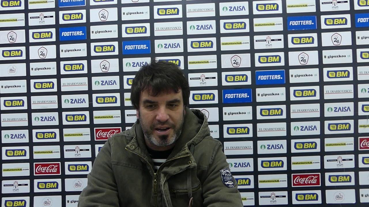 Jornada 16. Aitor Zulaika, previa del partido Barakaldo CF-Real Unión Club