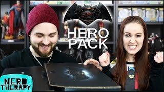 Official Batman V Superman: Dawn of Justice Hero Pack!
