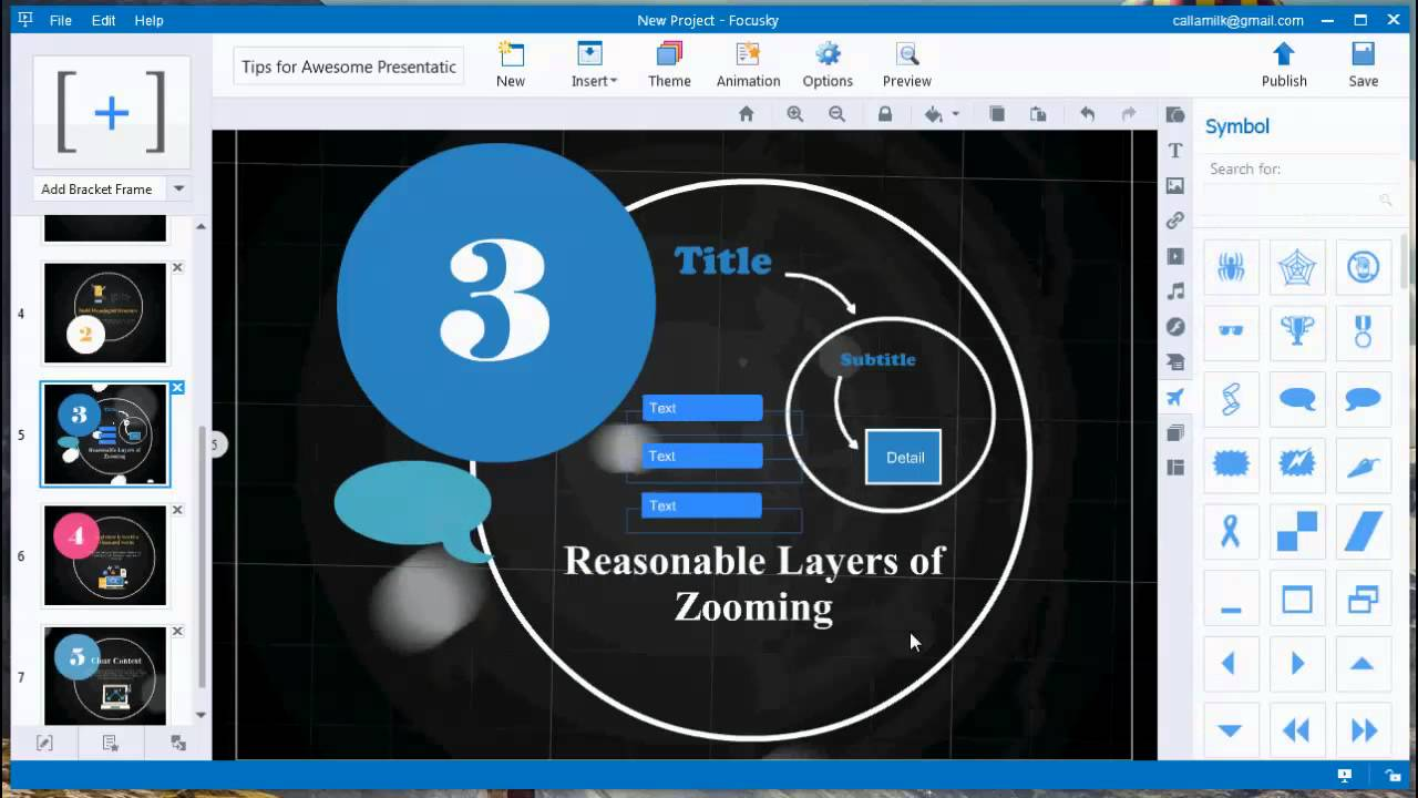 create impressive presentation with free presentation maker focusky