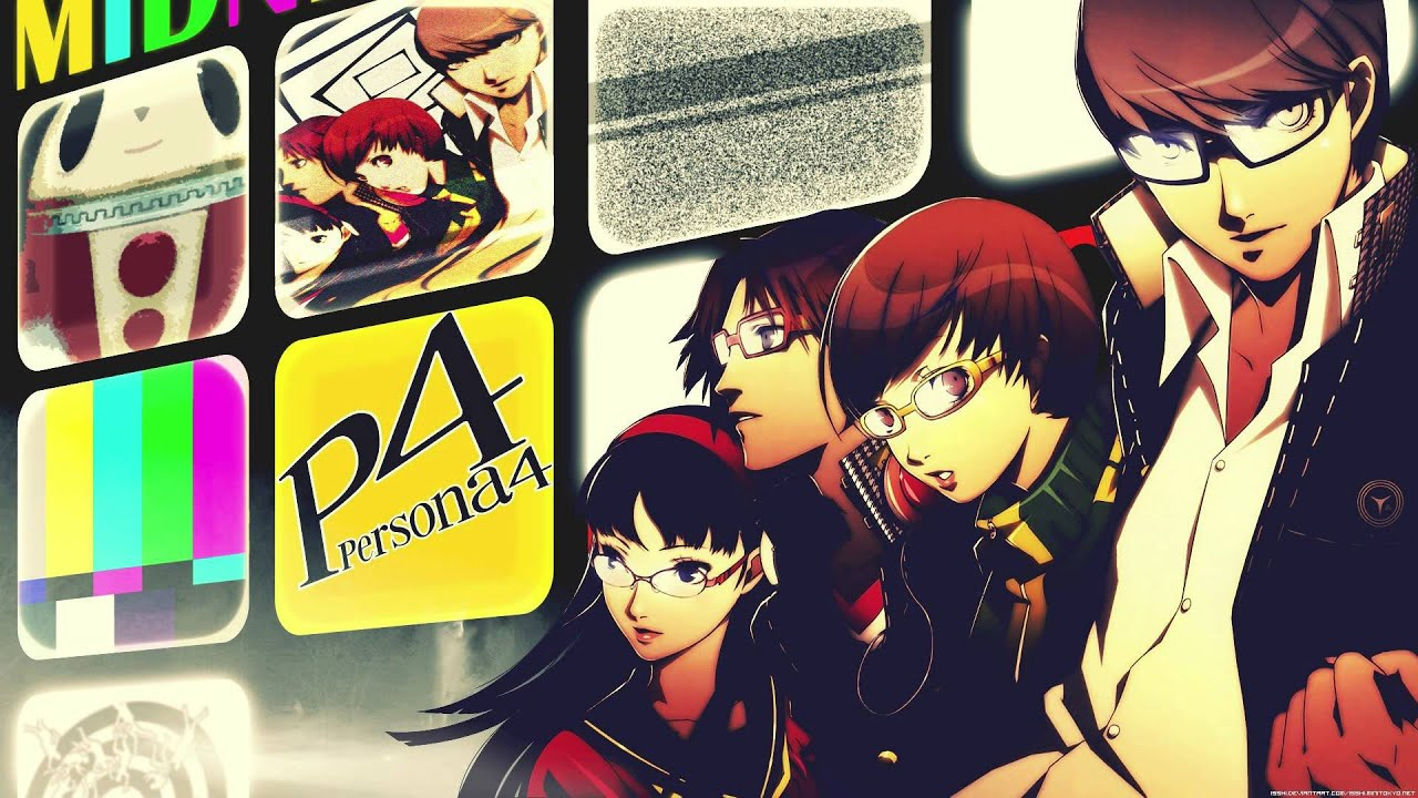 persona 4 the animation key plus words instrumental cover
