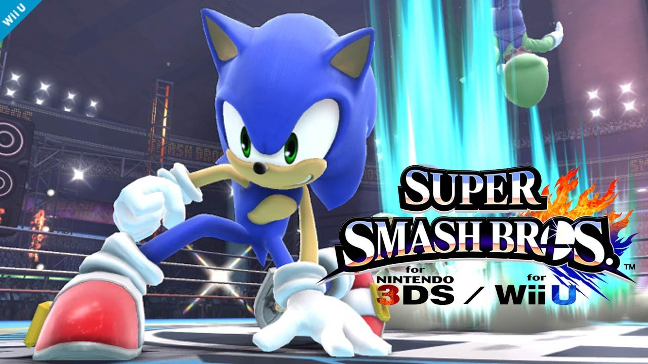 super smash bros wii u 3ds sonic trailer 1080p true hd quality