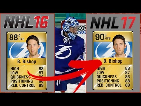 5 GOALIES WHO WILL INCREASE RATING IN NHL 17 (NHL 17 Predictions)