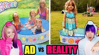 Ads VS Reality!