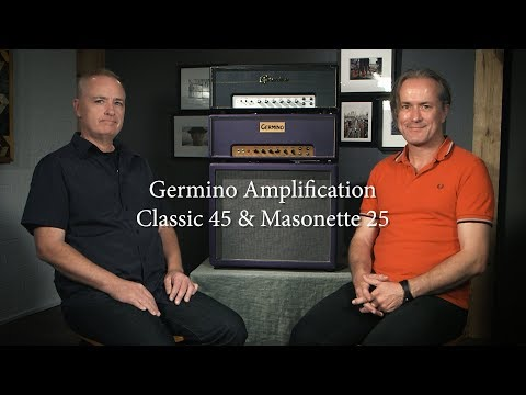 Germino Amps review with Lee Slater