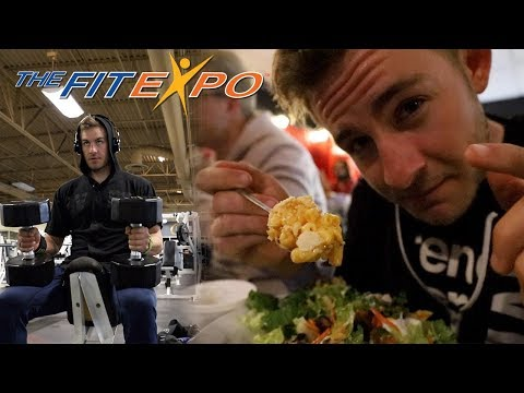 THE LA FIT EXPO | VEGAN FOOD FEST | DEALING WITH STRENGTH LOSS