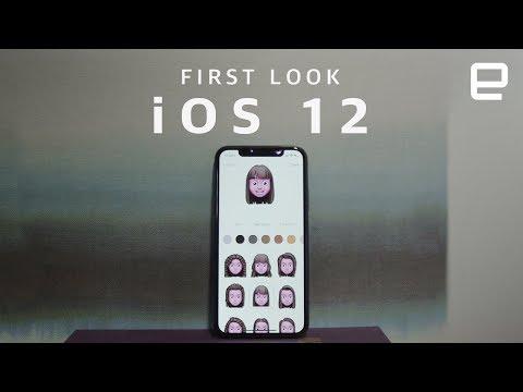 Apple iOS 12 First Look