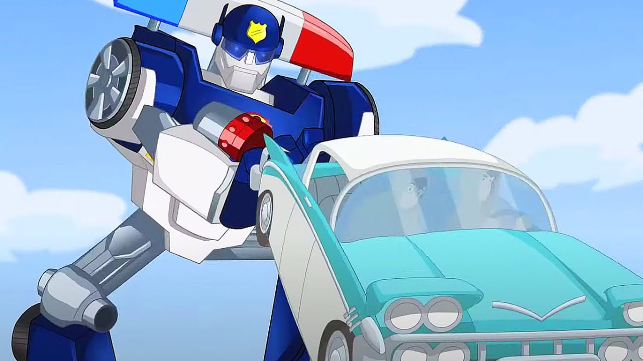 Perseguição em andamento! | Rescue Bots | desenho animado infantil | Transformers para crianças