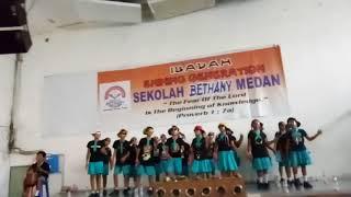 Yel2 Kelas 6C Sekolah Bethany Medan
