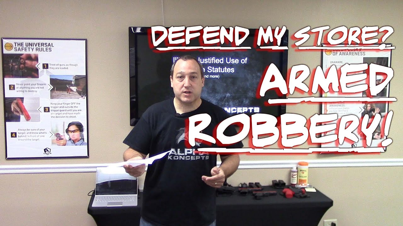 Can I Defend My Store? Illinois Use of Force in Defense of Other Property - Armed Robbery